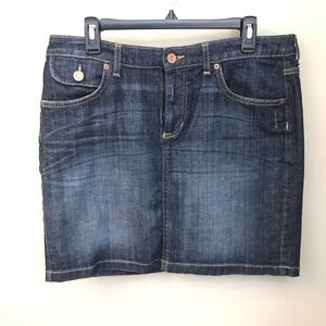 Gap denim mini skirt - size 14